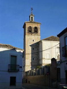 Torre campanario del Convento de Santo Domingo o de los Padres Dominicos en Ocaña