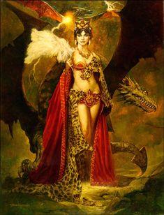 proteus7:  Dragon Queen - Sanjulian