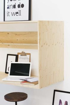 Feel Like Working With Perfect Home Office Furniture Office Nook, Home Office Space, Used Office Furniture, Cool Furniture, Interior Decorating, Interior Design, Home Upgrades, New Room, Small Spaces