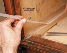 How to fix drawers that stick or get stuck. Soap, some sort of lubricant, or a special tape. DIY.