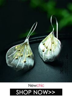Vintage #Jewelry #earrings Sterling Silver Flowers, Sterling Silver Pendants, Silver Jewelry, Simple Earrings, Flower Earrings, Jewelry Accessories, Women Jewelry, Fashion Jewelry, Women's Fashion