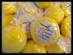 You get SEVEN yellow surprise monkey fart bath candies, each with a toy inside, in BANANA fragrance for this order. A party favor, stocking stuffer or great gift idea the recipient will love because they can actually use it. Much better than candy - they wont rot their teeth, add calories and are actually good for them! Each surprise bath fizz is hand made using the finest ingredients to include Vitamin E and natural Aloe Vera for soft skin, Epsom Salt for relaxing, Monkey Fart (banana)…