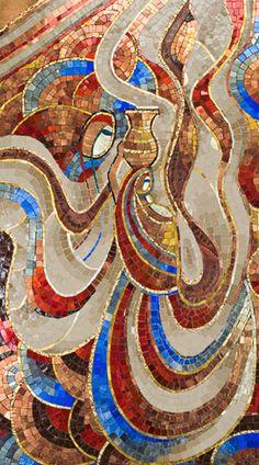 She Is   Daryl Lynne Wood Mosaics