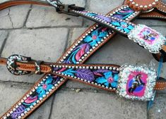 Pin Up Cowgirl ... Awesome horse tack!! @ razzletack.com