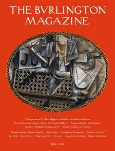 THE BURLINGTON MAGAZINE, nº 1360 (julio 2016)