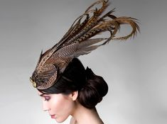 Great use of pheasant feathers, don't you think...