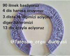 """285 Beğenme, 26 Yorum - Instagram'da Fatoş Özbey (@fatosun_orgu_dunyasi): """" mutlu pazarlar Yelegimizin yapımına başlayalım Yapmak isteyenlere kolay gelsin 1adet bebe…"""""""