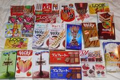 Almost finished but i hope to get them again soon, japanese chocolate is nice and funny too :D