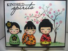 KINDRED SPIRITS by minnidr - Cards and Paper Crafts at Splitcoaststampers