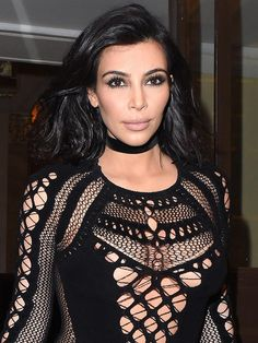 Kim Kardashian's Year of 'Chokers and a Touch of Fur'   People