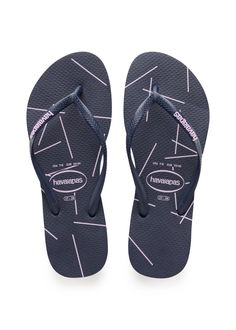 Havaianas Slim Stripes Sandal Navy Blue/Navy Blue  Price From: 21,86€