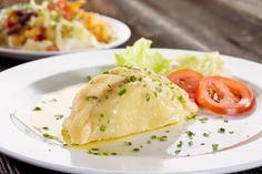 Traditionelle Kärntner Kasnudeln #Tradition #Genuss #Geschmack #Topfen #minze #Kartoffel