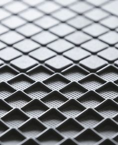 leManoosh # Grip Rubber / Silicon square Texture X-Gone 3d Pattern, Surface Pattern, Surface Design, Pattern Design, Pattern Ideas, Cool Patterns, Shape Patterns, Textures Patterns, 3d Texture