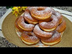 Oponki Drożdżowe bez Sera   Donaty   Przepis na Oponki - YouTube Holiday Desserts, Doughnut, Cooking, Food, Bakken, Kitchen, Essen, Meals, Yemek