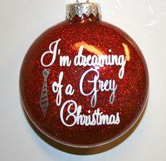 50 Shades of Grey Ornament