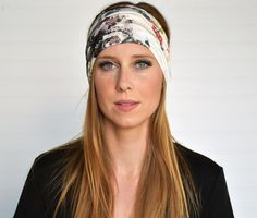 Wide boho fabric headband Ladies fashion by WildandFreeFashion Yoga Headband, Wide Headband, Boho Fashion, Womens Fashion, Ladies Fashion, Fabric Headbands, Boho Baby, Wild And Free, Turban