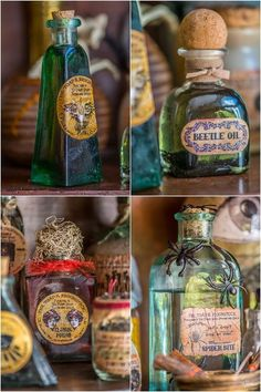apothecary jars and free printable labels , bedroom ideas, countertops, crafts, gardening, halloween decorations, home decor, lawn care, outdoor living, painted furniture, pest control, seasonal holiday decor