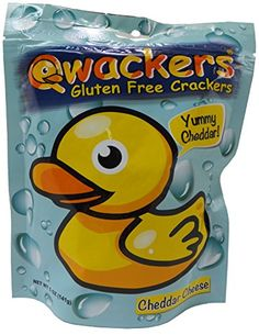 Qwackers Gluten Free Crackers - Single 5 oz Stand Up Pouch null