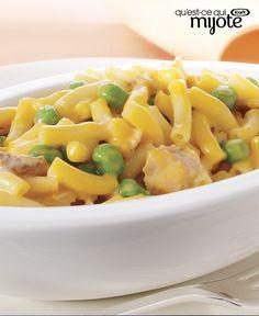 Macaroni au thon tout en un #recette