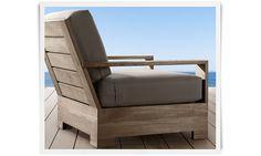 Neat outdoor furniture style❣ Restoration Hardware