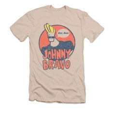 798b9541517645 Johnny Bravo Logo Fleece Blanket in