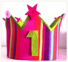 Coronas de aniversario para tus peques