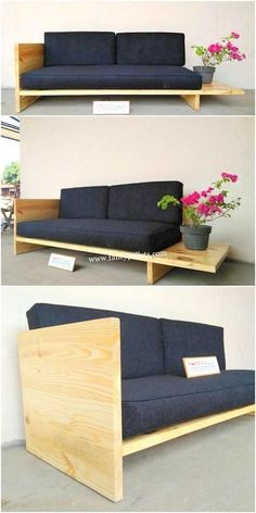 The Easiest Way To Make Diy Sofa At Home With Material Available At Home Are costly sofas in market are out of your range? No worry, Try this! Diy Sofa, Diy Pallet Sofa, Diy Furniture Couch, Home Decor Furniture, Furniture Design, Pallet Headboards, Pallet Benches, Pallet Tables, Pallet Bar