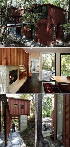 Stylish Shipping Container Home With Living Wall Decor – Vanchitecture Container Buildings, Container Architecture, Architecture Design, Sustainable Architecture, Shipping Container Design, Container House Design, Shipping Containers, Storage Container Homes, Cargo Container