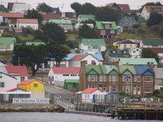 Puerto Argentino/Stanley - Islas Malvinas (Territorio Británico de Ultramar en disputa con Argentina.)