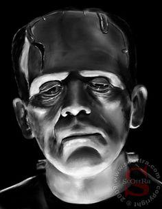 The Frankenstein Monster by ScOttRa.deviantart.com on @deviantART