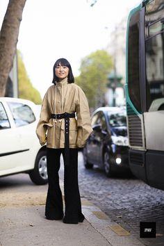 Miyuki Uesugi - Paris CELINE COAT