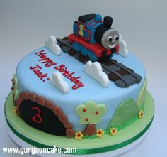 Wonderful Photo of Thomas And Friends Birthday Cake Design . Thomas And Friends Birthday Cake Design 9 Thomas Birthday Cakes Photo Thomas And Friends Birthday Cake Thomas Birthday Cakes, Friends Birthday Cake, Thomas Cakes, 4th Birthday Cakes, 2nd Birthday, Birthday Ideas, Thomas And Friends Cake, Birthday Cake Pinterest, Cake Cover