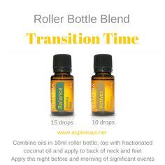 transition time roller bottle blend change children balance vetiver grounding calming emotions support essential oils doterra