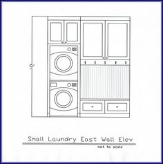 Small laundry room mudroom ideas.  Stacked washer and dryer.