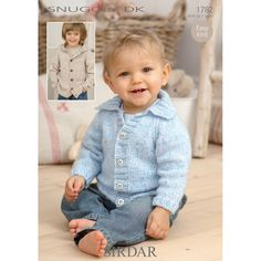 Tons of baby cardigan knitting patterns free UK. You will just love these free knitting patterns for babies straight from the UK! Baby Knitting Patterns, Baby Cardigan Knitting Pattern Free, Love Knitting, Knitting For Kids, Baby Patterns, Knitting Yarn, Cardigan Pattern, Jacket Pattern, Wool Yarn