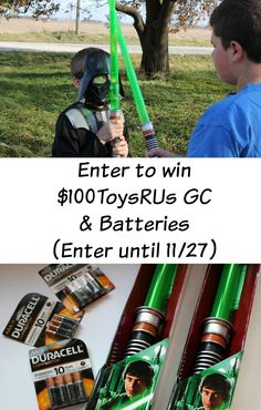 Your 2015 Holiday Wish List should include Duracell Batteries! Enter to win a $100 ToysRUs Gift Card so that you can buy the newest Star Wars Toys and batteries, too! #TRUBatteriesIncluded #Ad