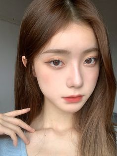 Ulzzang Girl Selca, Ulzzang Hair, Ulzzang Korean Girl, Korean Natural Makeup, Korean Makeup Look, Asian Makeup, Korea Makeup, Korean Beauty Girls, Asian Beauty