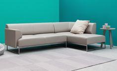 NOTI #simple #elegant #sofa #corner #coach from MALTEMI collection #design by #RenataKalarus for #LivingRoom