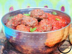 Intialaiset lihapullat  Peggyn pieni punainen keittiö