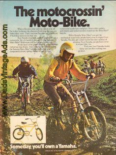 1974 Yamaha Bicycle – the motocrossin' Moto-Bike