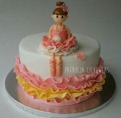 Ballerina cake - Cake by Patrycja Cichowlas Cakes