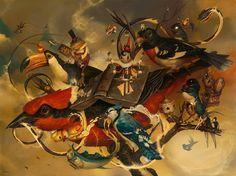 "Where Am I – Acrylic painting by Greg ""Craola"" Simkins"