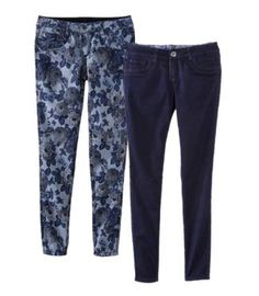 FlipSide Reversible Jeans!  Two pairs of pants in one! Very clever Target!