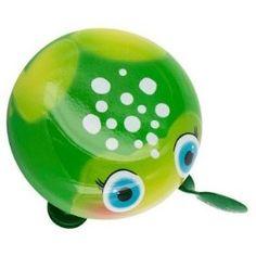 Bicycle Bell - Frog Bicycle Bell, Bike, Piggy Bank, Yoshi, Bicycle, Bicycles, Money Bank