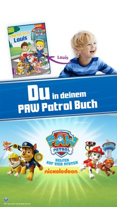 Become a hero in your own personalized Paw Patrol adventure! Go on a great mission with Ryder, Chase