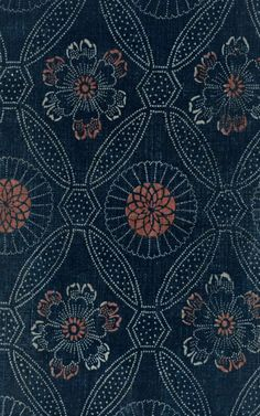blue and orange pattern (Universe Mininga)