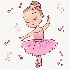 Ballerina clipart watercolor ballet shoes Ballerina dress Ballet dance Little dancer girl vector cli Source by etsy ballerina Ballet Drawings, Art Drawings Sketches, Illustration Sketches, Easy Drawings, Illustrations Posters, Ballet Dance, Ballet Shoes, Kitten Drawing, Birthday Wishes For Kids
