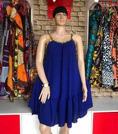Ankara print short dress for women's / African print short sex dress for women's kitenge short dress African Fashion Ankara, Latest African Fashion Dresses, African Print Fashion, Short African Dresses, African Print Dresses, Short Dresses, African Print Dress Designs, Swag Dress, African Attire