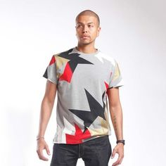 Retro Spike Tee Gray, $19.50, now featured on Fab.