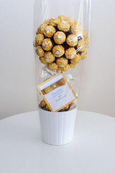 Ferrero rocher sweet tree. LARGE. handmade von SweetestGiftsUK